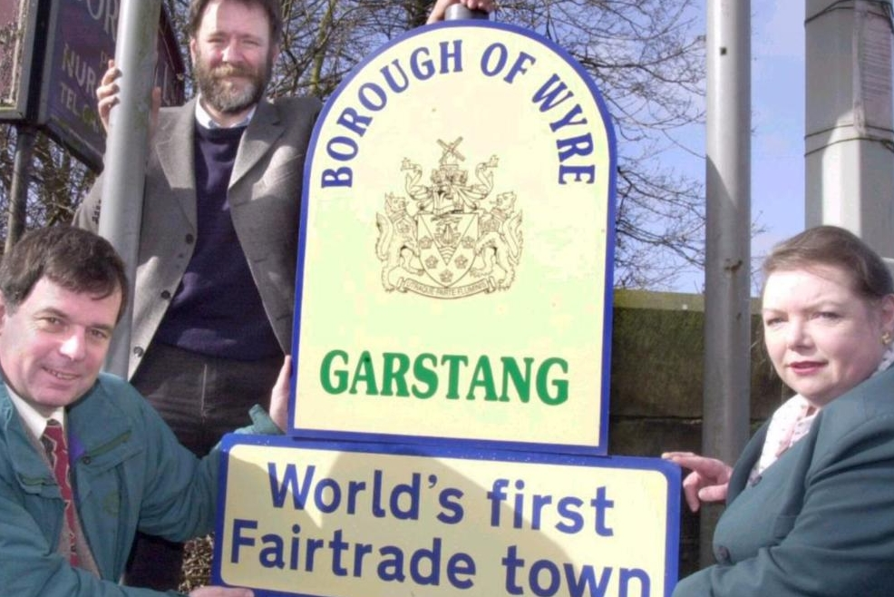 Garstang, the world's first Fair Trade Town - April 2000