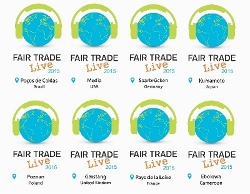 Live Aid commemoration Fair Trade Live 2015