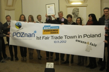 Fair Trade Towns International Conference Poznan, Poland 2012