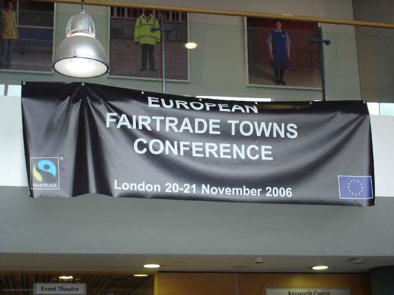 Fair Trade Towns International Conference London, UK 2006