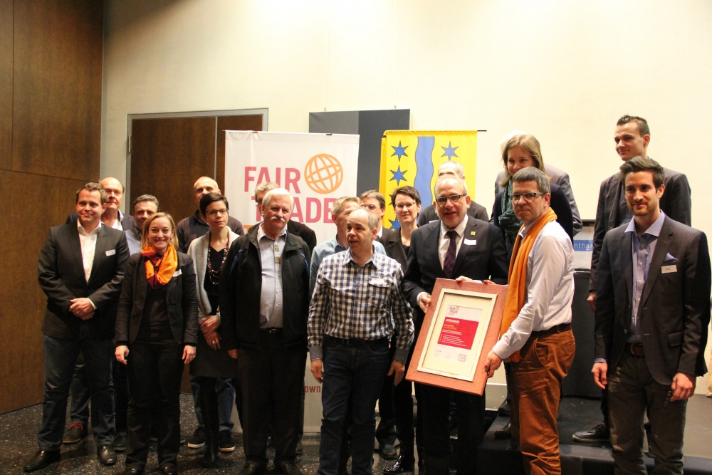 Fair Trade Town first in Switzerland - Näfels, Glarus Nord.